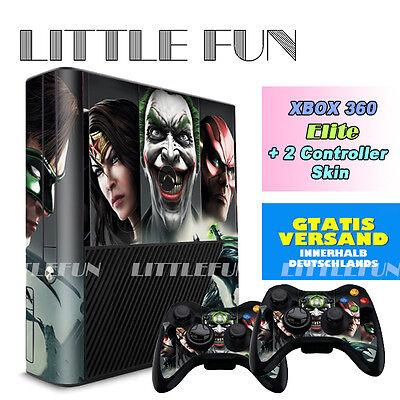 XBOX 360 elite Aufkleber Schutzfolie Sticker Skin Decal für XBOX 360 Elite Cool (Coole Xbox 360)