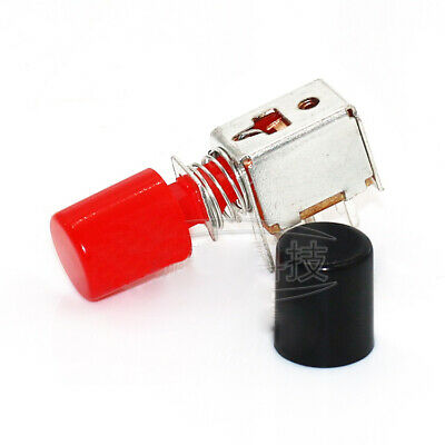 6 Pin Self-locking Latching Push Tactile Button Switch And Cap Dpdt Power Switch
