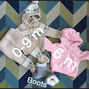 6-9 m old baby winter  clothes