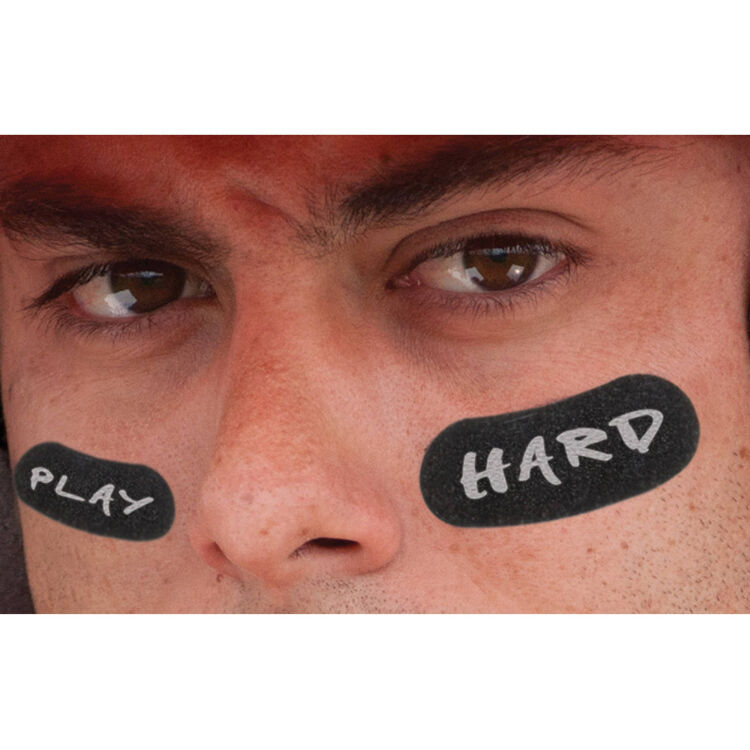Franklin Sports Eye Black Stickers with White Pencil 11392S11