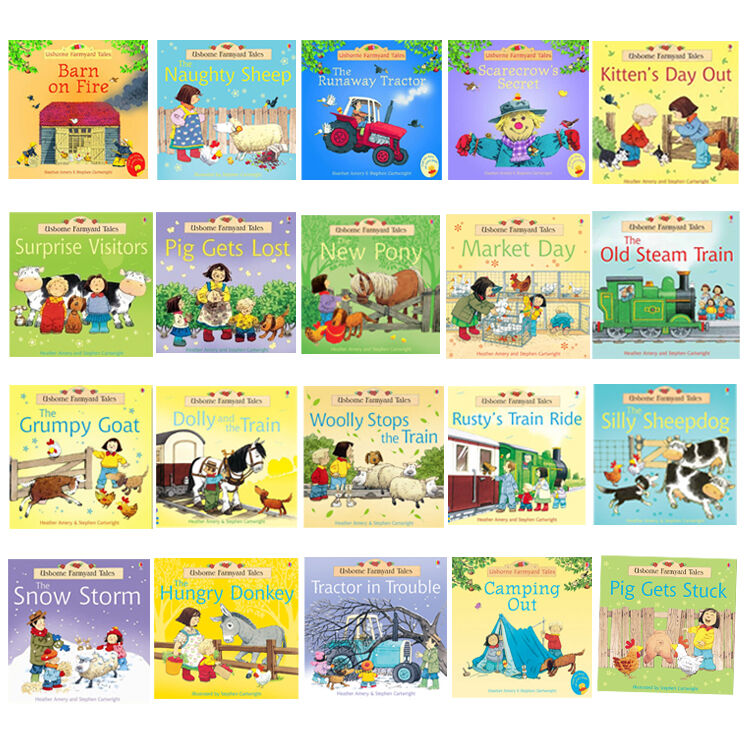 Usborne Farmyard Tales Story Collection Children  Book