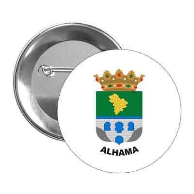 CHAPA ESCUDO ALHAMA - ALMERÍA