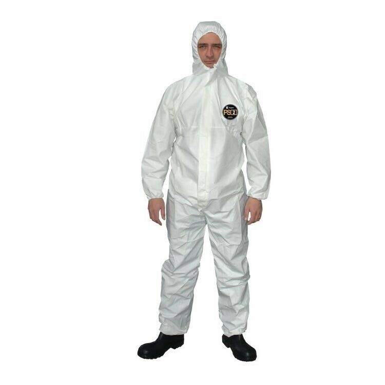 Kappler Prosafe PS2 Disposable Protective Overall Suit Jumpsuit Hazmat Biohazard