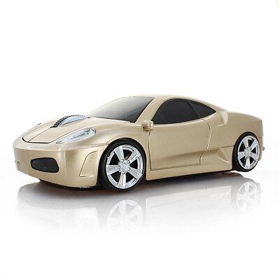 Ferrari USB Car Wireless Mouse 2.4G Optical gaming Mice for PC Mac Win Xmas Gift