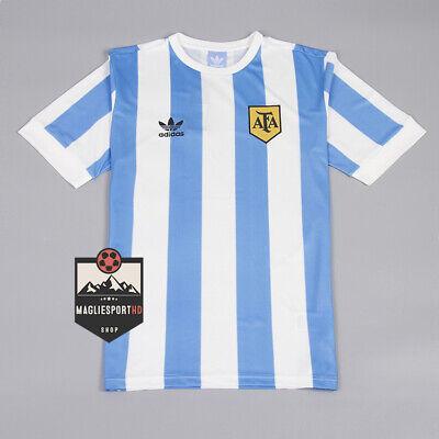 Maglia Argentina Mondiali 1978 - Calcio Retro Vintage Jersey Kempes Maradona