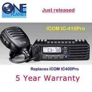 ICOM IC-410Pro (Replaces IC-400Pro, IC400Pro) 5 Watt 80 channel UHF CB Radio