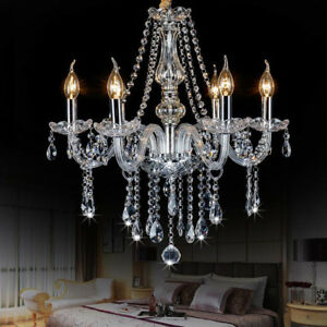 Glass/Crystals Chandeliers