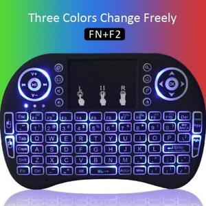 Mini Wireless Keyboard Mouse Combo with 3 color Back-light, $20