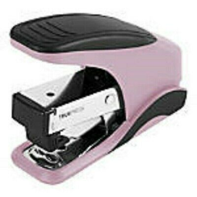 Office Depot Truepress Reduced Effort Jam Free Mini Stapler Pinkblack