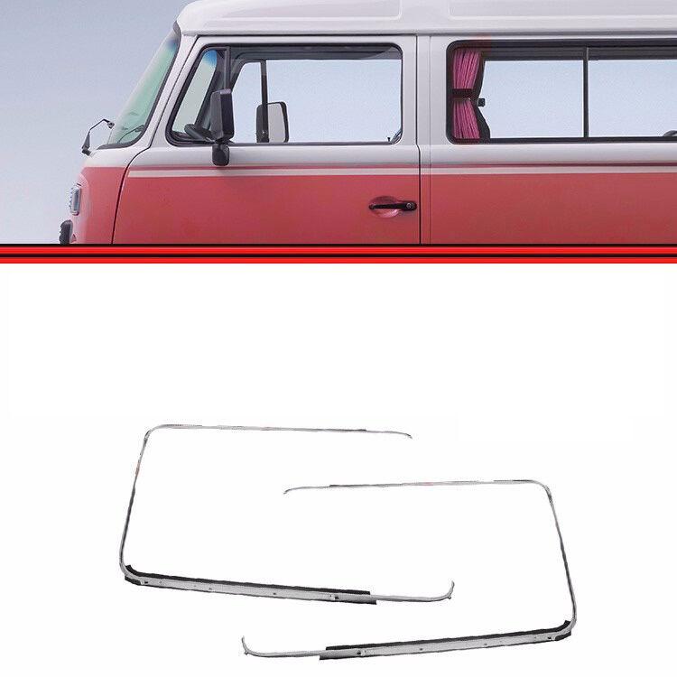 Volkswagen Bus Parts: Vw Bus T2 Left Window Trim Frame 211853322b Type 2 1968