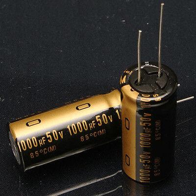 2pcs Nichicon Muse Kz 1000uf50v High-end Audio Electrolytic Capacitor