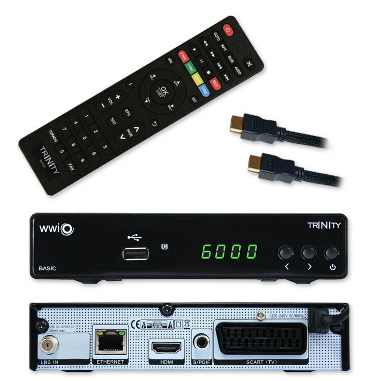 HD SAT receiver Digital Receiver WWIO Full HD Sat HDTV HDMI USB  SCART Unicable