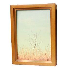 New Wood Wooden photo Frame Square Picture Frames Size Stand Wall Hang Hot