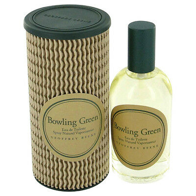 Bowling Green Geoffrey Beene Men Edt Spray 4Oz 120 Ml Authentic Made In England