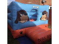 10 x 10 box commercial bouncy castle.
