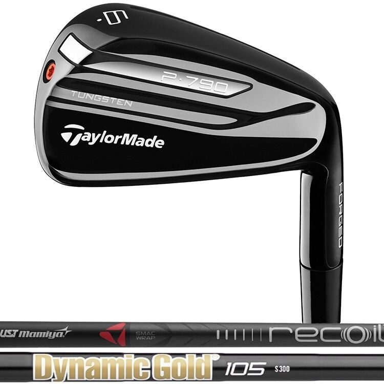 New 2018 Taylormade P790 Limited Black Single Irons - Steel