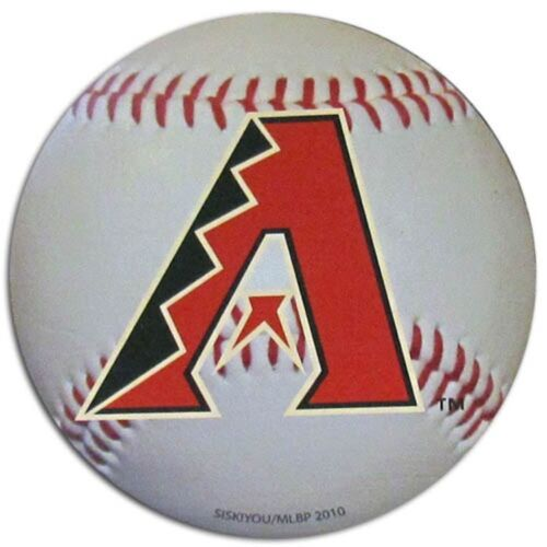 "Arizona Diamondbacks Baseball Magnet 4.5"" Indoor Outdoor Grade Mlb Licensed"