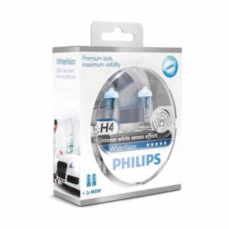Philips White Vision (Twin pack) H4, H7 North Adelaide Adelaide City Preview