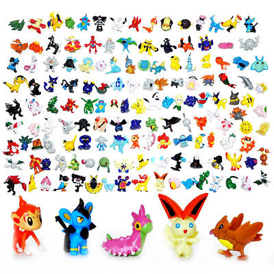 24-144Pcs Pokemon Pocket  Mini 2-3cm Pearl Action Figures Kids Toys Lovely Gifts (Cinderella Gifts)