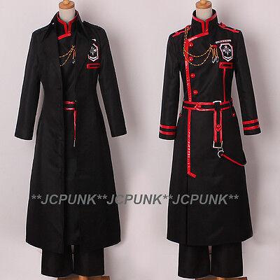 D.Gray-man HALLOW Kanda Yuu Cosplay Costume Full Set