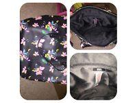 F&F Woman's butterfly Handbag large
