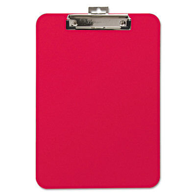 Baumgartens Unbreakable Recycled Clipboard 14 Capacity 8 12 X 11 Red 61622