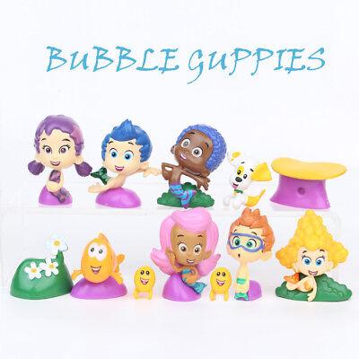 Deema Bubble Guppies (Bubble Guppies 12 Figure Set PVC TOY Cake Topper GIL Molly Nonny Deema Oona)