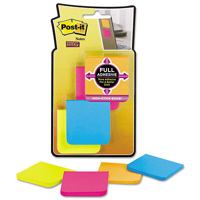 Post-it Full Adhesive Notes 2 X 2 Assorted Rio De Janeiro Colors 25-sheet 8pack