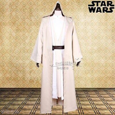 Adult Star Wars Luke Skywalker Jedi Cosplay Costume Custom Made full set (Custom Jedi Kostüm)