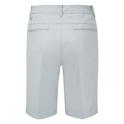 Puma Jackpot Golf Shorts Quarry/White DryCELL Technology Provides A Fresh Feel