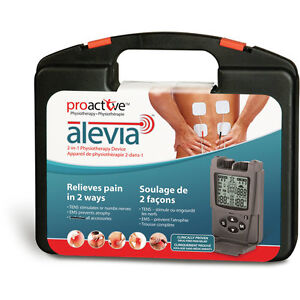 Proactive Alevia 2-in-1 Physiotherapy Device TENS & EMS