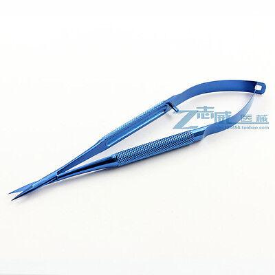 1pcs Micro Eye Scissors 7 Straight Titanium Opthalmic Instruments A1186 Lw