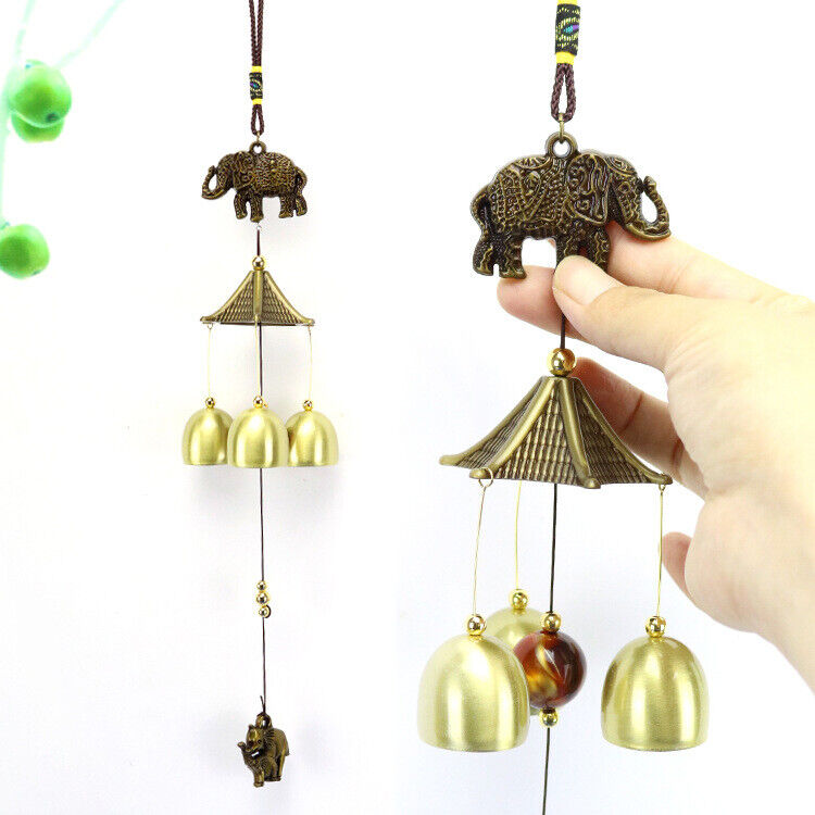 1PC National Copper Bell Mobile Wind Chime Home Yard Garden Outdoor Living new