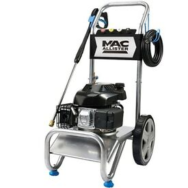 Mac allister 4.0hp petrol pressure jet washer