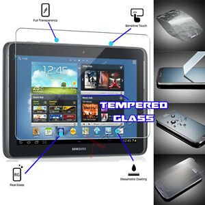 100% TEMPERED GLASS Screen Protector For Samsung Galaxy Note 10.1 N8000 N8010