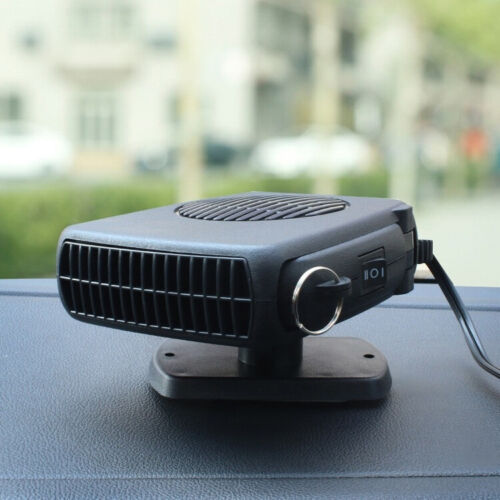 USA STOCK 12V DC Car Auto Portable Electric Heater Heating Cooling Fan Demister