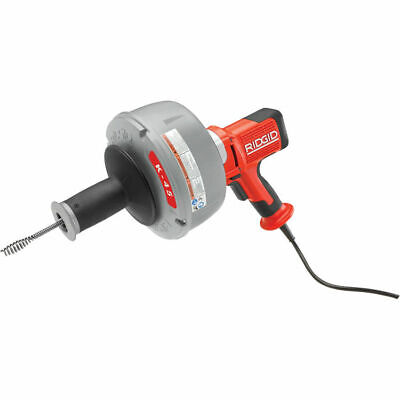 Ridgid 35473 Model K-45af Autofeed Drain Cleaner W Icc And Inner Drum