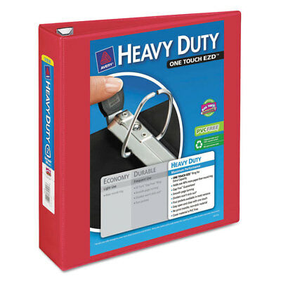 Avery Heavy-duty View Binder Wlocking 1-touch Ezd Rings 2 Cap Red 79225