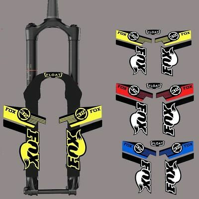FOX 32 MTB Mountain Bike Front Fork Reflective Sticker For Cycling Race DH Decal