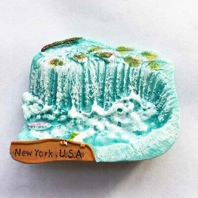 US Niagara Falls Tourist Metal Fridge Magnet Travel Souvenir Kitchen Accessories