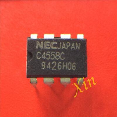 5pcs Upc4558c Dip-8 High Performance Dual Operational Amplifier