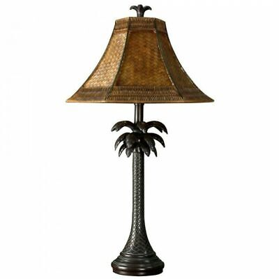 Palm Tree Table Decorations (Night Stand Lamp Tropical Palm Tree Table Lamp Illuminate Living Room Bedroom)