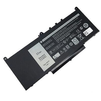 7.6V 55WH Battery Replace For Dell Latitude E7270 E7470 MC34Y R1V85 MC34Y J60J5