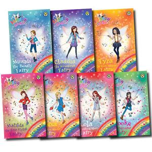 Rainbow Magic Fashion Fairies Collection 7 Books Pack Set-Una,Miranda,Claudia,Ty