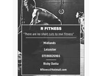 R Fitness Personal Trainer Ricky Dutta