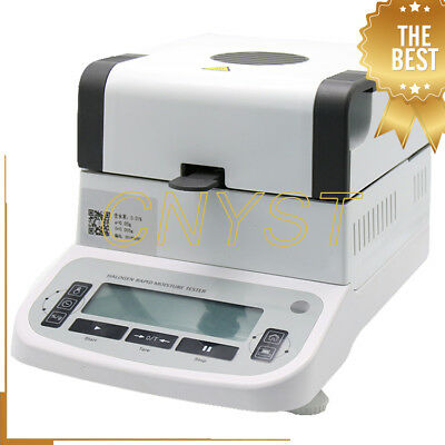 Digital Halogen Moisture Tester Analyzer Rapid Moisture Meter For Food Grain