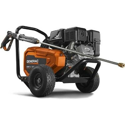 New Generac Commercial Belt Drive Gas Pressure Washer - 3800 Psi 3.2 Gpm