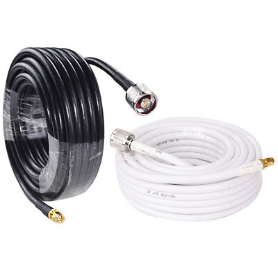 32ft/16ft Coaxial Cable Antenna Cord Wire 5D-FB For Cell Phone Signal Booster