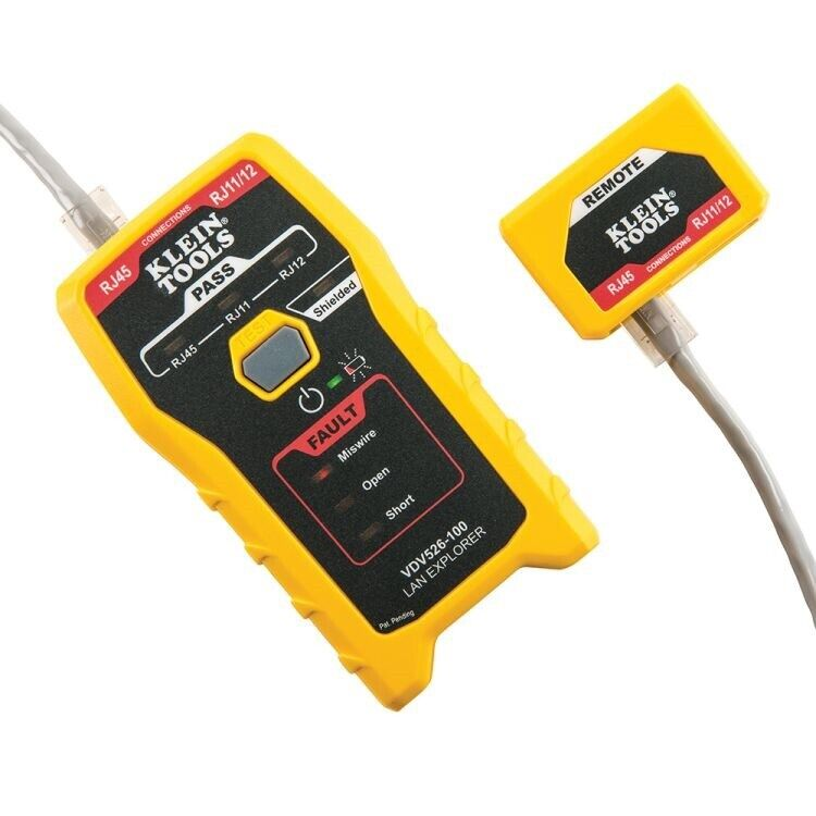 Klein Tool LAN Explorer Data Cable Tester with Remote