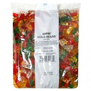 New Haribo Gummi Candy Gold-Bears, 5-Pound Bag - Free Shipping!